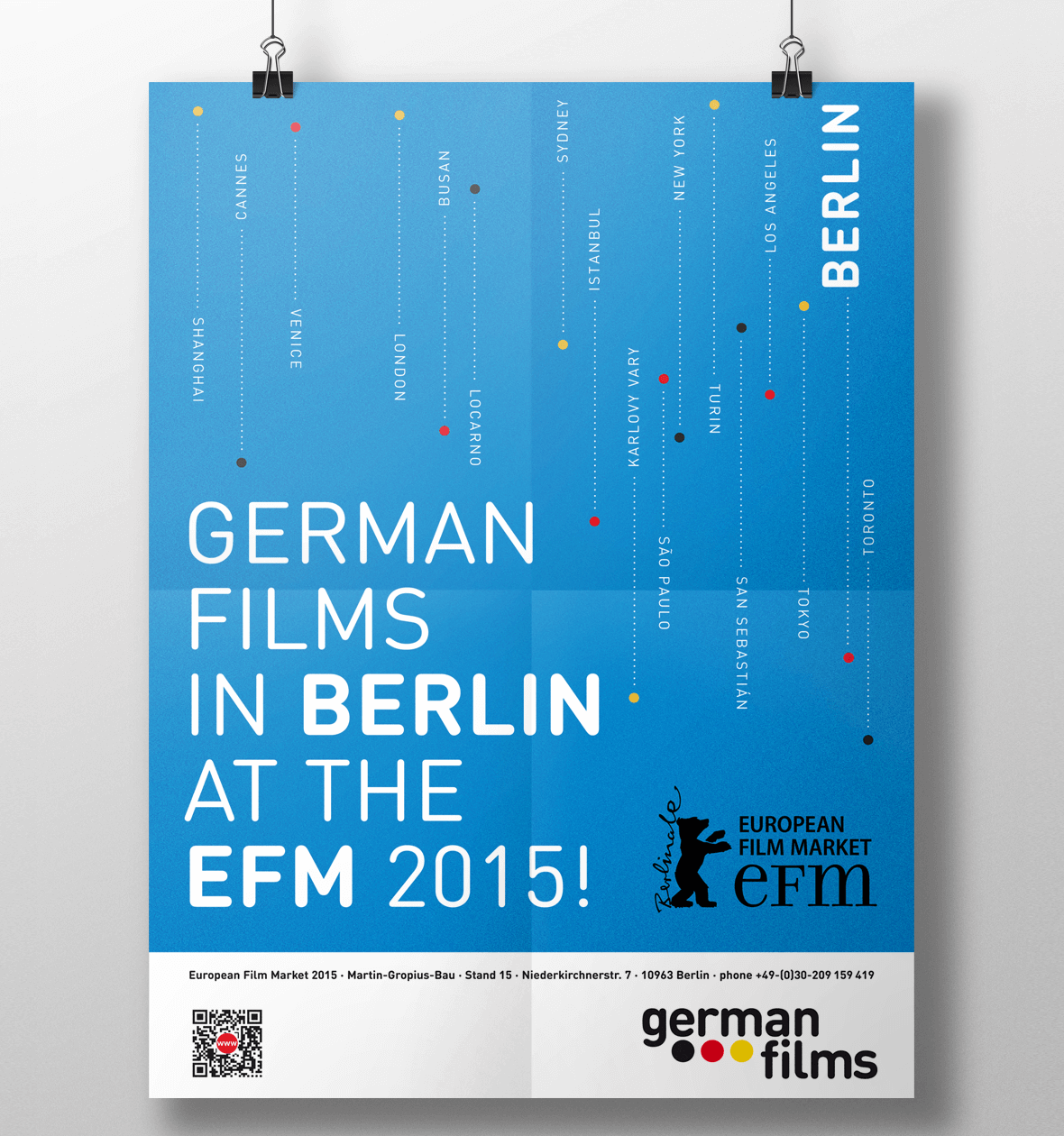 Imageposter German Films für Berlinale 2015